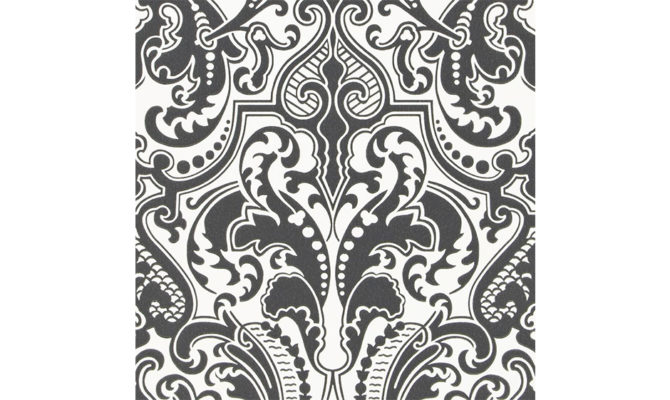 Gwynne Damask – Charcoal PRL055 06 Product Image
