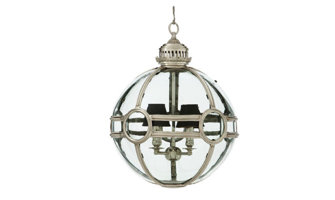 Hagerty Lantern – ANTIQUE SILVER Product Image