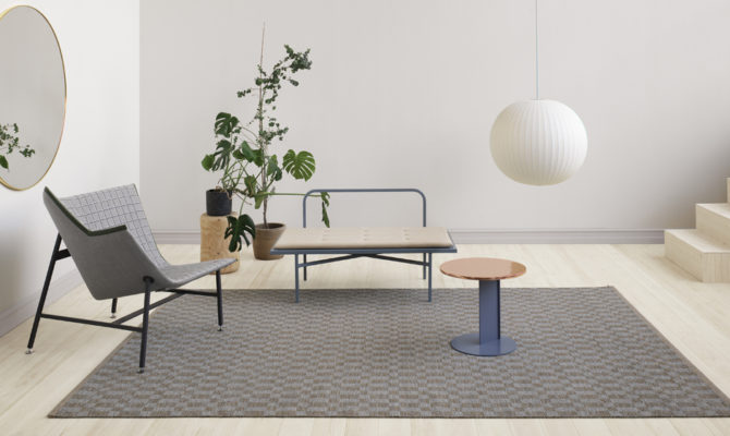 CUBRICK ICON | WOVEN RUG Product Image