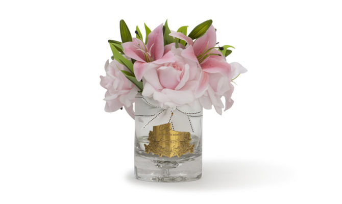 CÔTE NOIRE – LUXURY LILIES AND ROSES – PINK Product Image