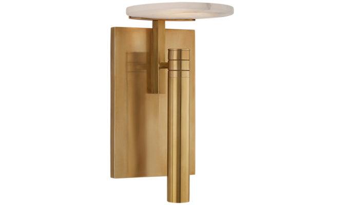 Melange Floating Disc Sconce Brass Product Image