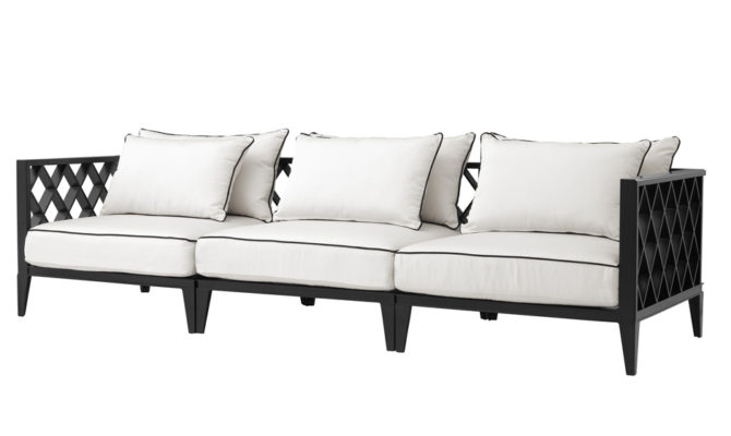 Ocean Club Sofa – Black Product Image