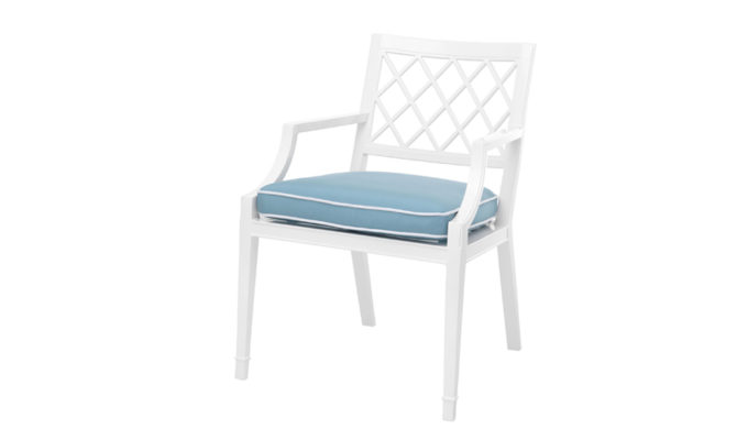 Paladium Chair with arms – Blue Product Image