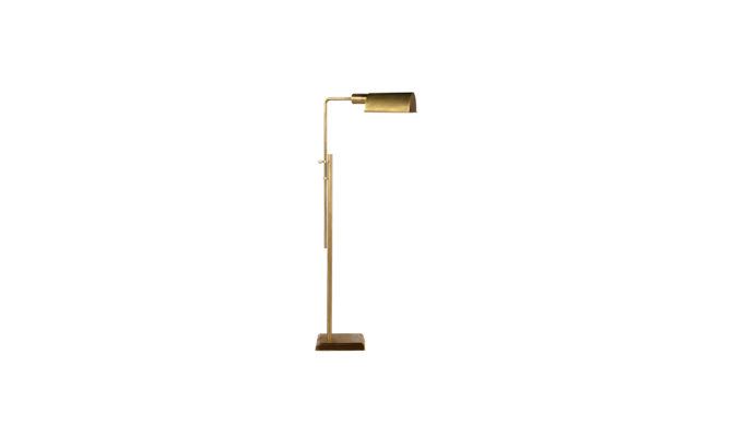 Pask Pharmacy Floor Lamp Brass Product Image