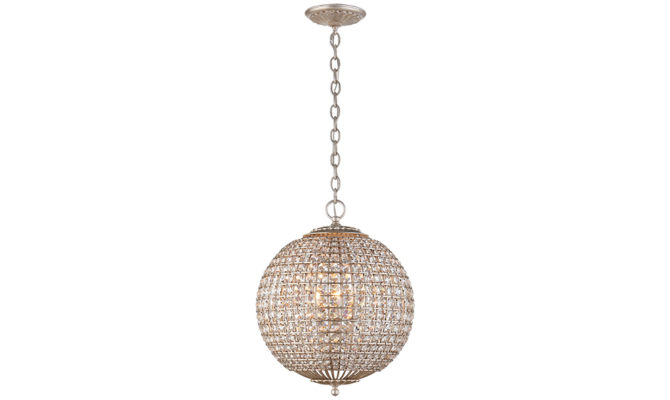 Renwick Small Sphere Pendant Silver Product Image