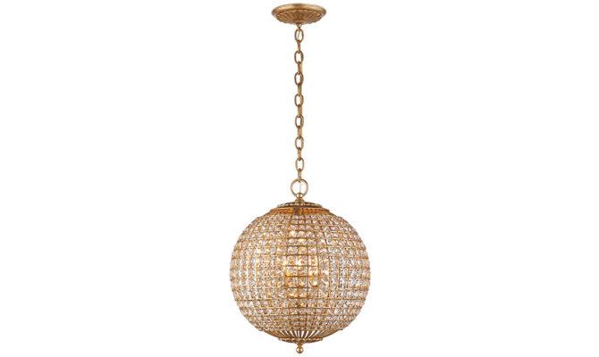 Renwick Small Sphere Pendant Gild Product Image