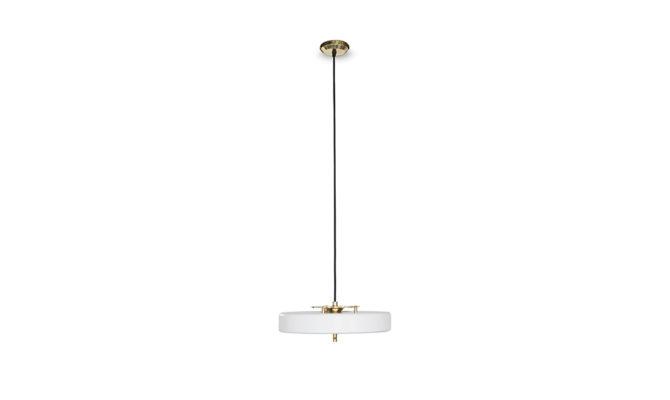 REVOLVE PENDANT LAMP White Product Image