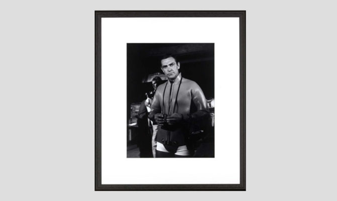 Sean Connery Thunderball | Print – SE015 Product Image