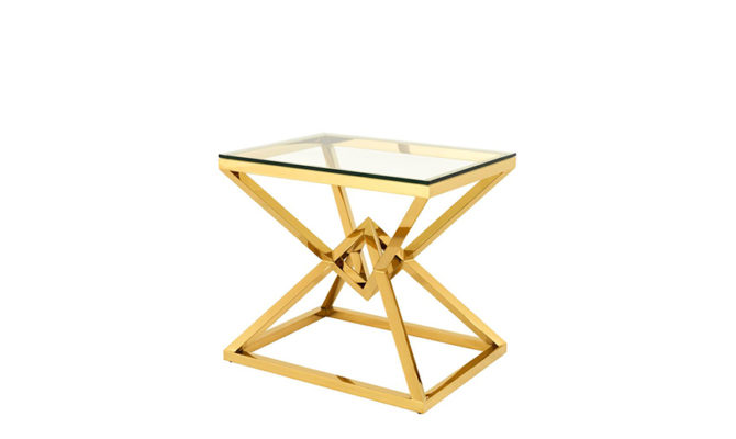 CONNOR SIDE TABLE GOLD Product Image