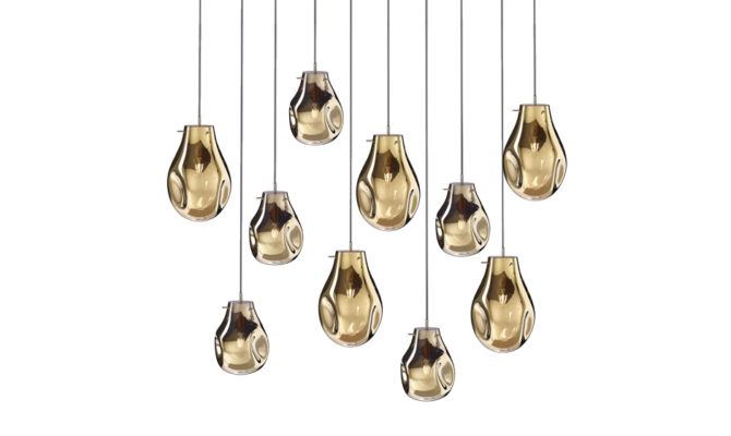soap chandelier | 10 pcs – Gold Product Image