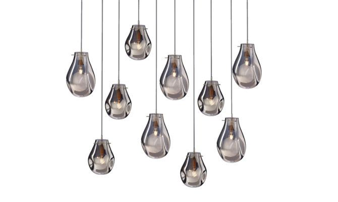 soap chandelier | 10 pcs – Silver Product Image