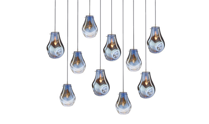 soap chandelier | 10 pcs – Blue Product Image