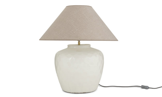 Stecy White Table Lamp Product Image
