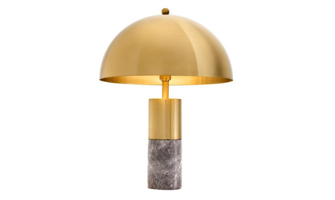 Flair Table Lamp – Grey Marble Product Image