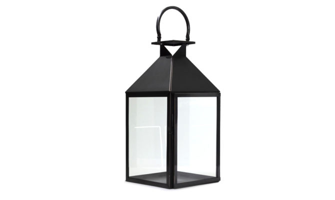 Trafalgar Lantern / Marine Grade Antique Black – Large Product Image