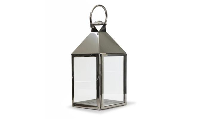 Trafalgar Lantern / Marine Grade Nickel – Large Product Image