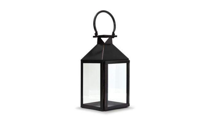 Trafalgar Lantern / Marine Grade Antique Black – Small Product Image