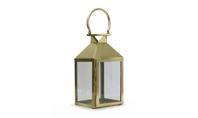 Trafalgar Lantern / Antique Brass – Small Product Image