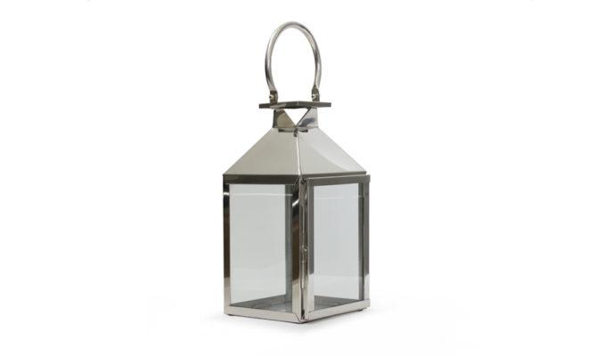 Trafalgar Lantern / Marine Grade Nickel – Small Product Image