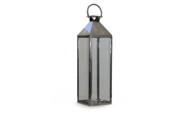 Trafalgar Lantern – Marine Grade Nickel XL Product Image