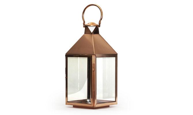 Trafalgar Lantern – Rose Gold Product Image