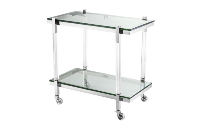Royalton Trolley – Stainless steel Product Image