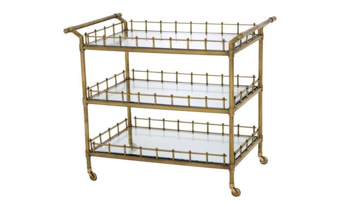 Scarlett Trolley – Brass Product Image