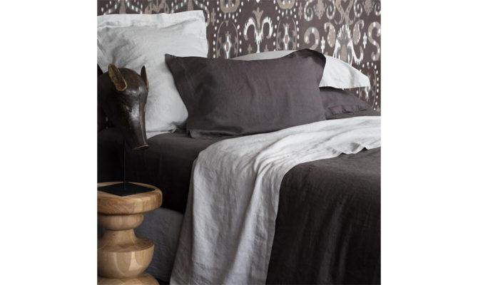 Vida Stonewashed Linen – Charcoal Product Image