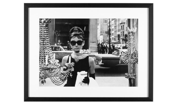 Audrey Hepburn – Breakfast at Tiffanys / print – Y068 Product Image