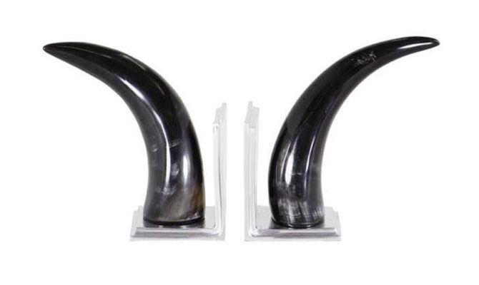 BOOKEND HORN SET Product Image
