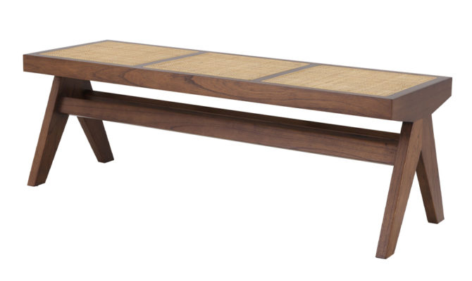Arnaud Bench – classic brown Product Image