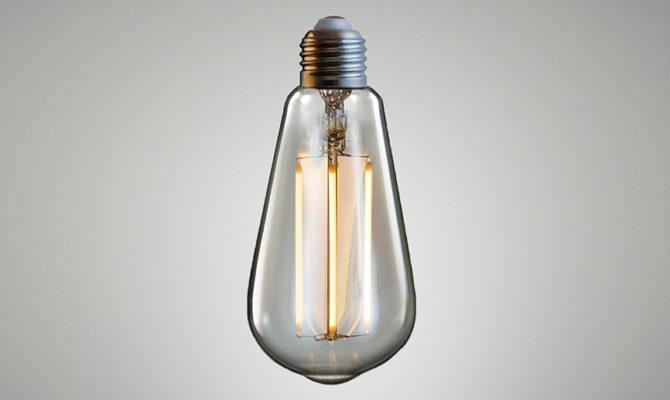 TEARDROP LED BULB – Amber Product Image