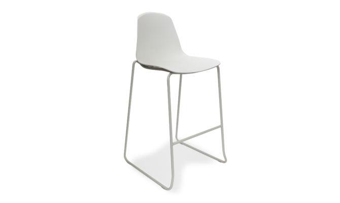Epoca Barstool – White Product Image