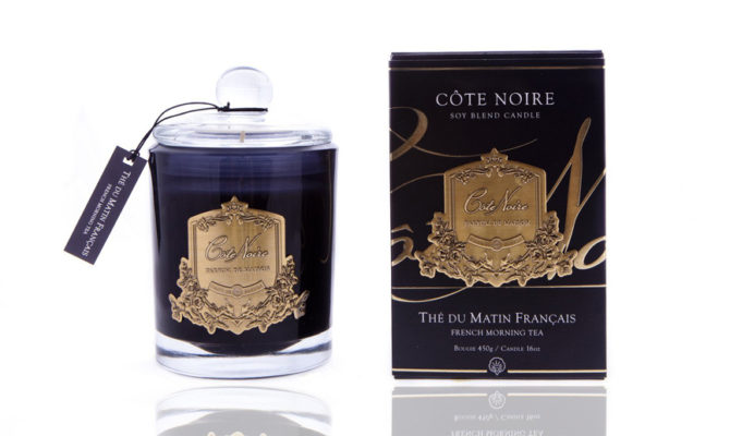 Côte Noire Candle – French Morning Tea 450g Product Image