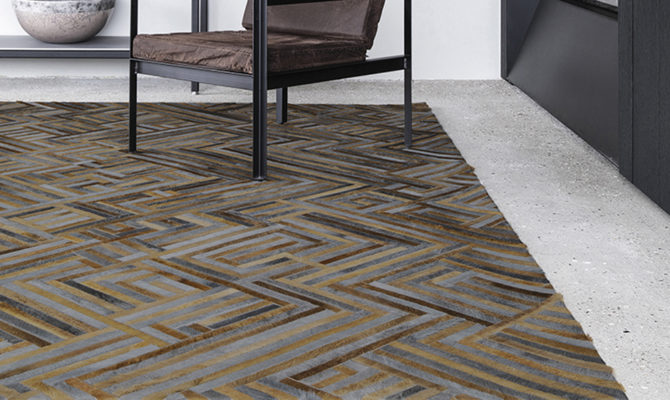 CONNECTION | cowhide RUG Product Image