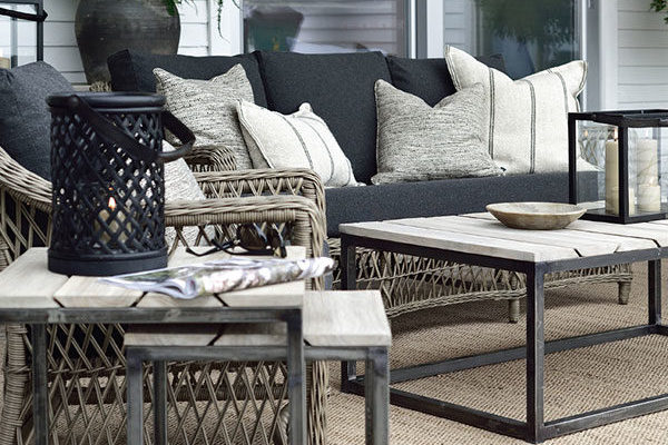 Out Side, Lamp & End Tables