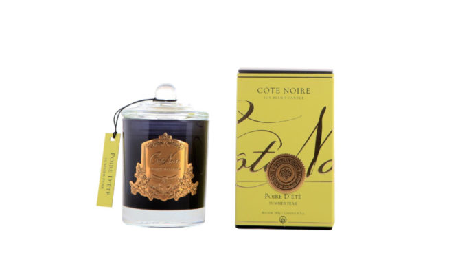 Côte Noire Candle – Summer Pear Gold 450g Product Image
