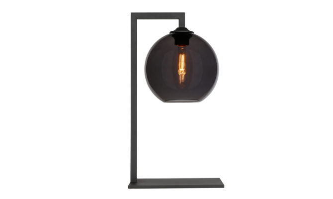 BALL TABLE LAMP – BLACK Product Image