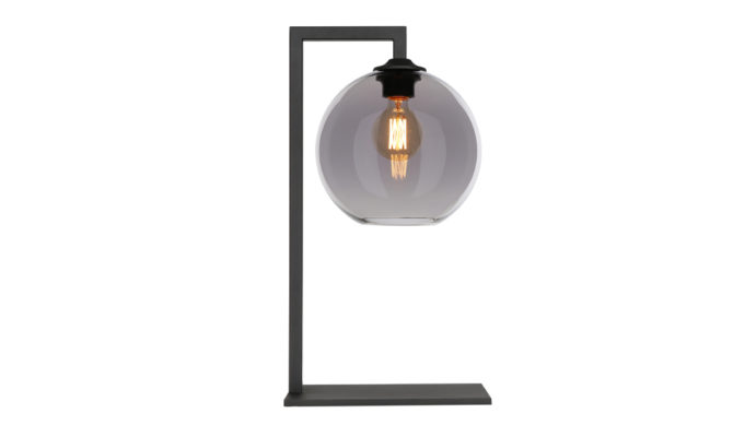 BALL TABLE LAMP – GREY Product Image