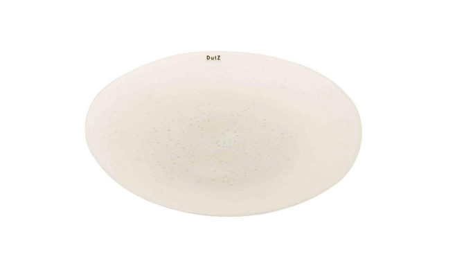 PLATE WHITE BUBBLES Product Image