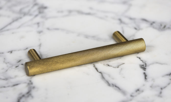 Atelier Pull Bar / Brass – Small Product Image