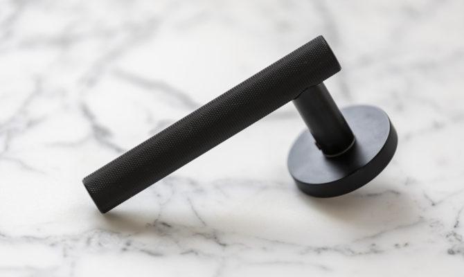 Atelier Door Levers – Matt Black Product Image
