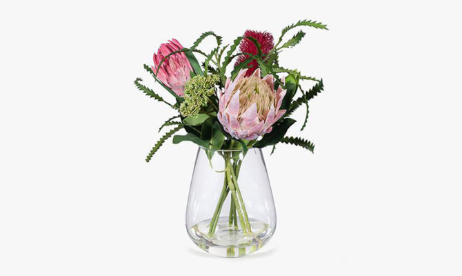 Banksia Protea Mix in Vase Product Image