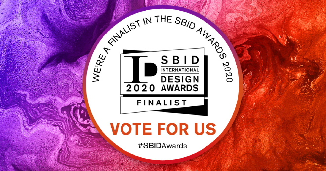 TRENZSEATER's has been shortlisted for the SBID International Design Awards 2020