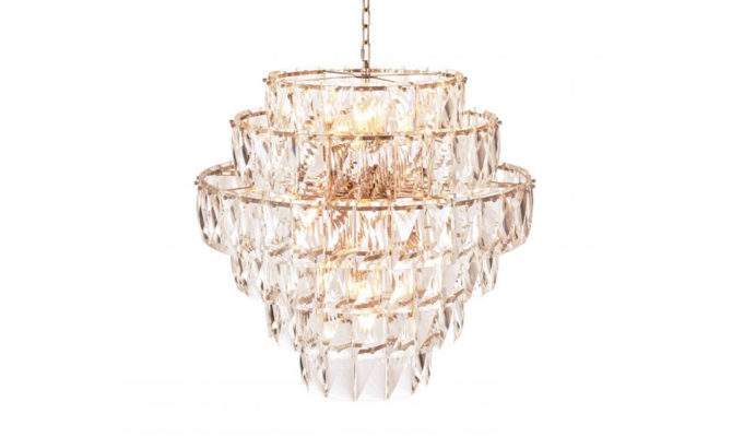 AMAZONE CHANDELIER – LARGE – CRYSTAL GLASS Product Image