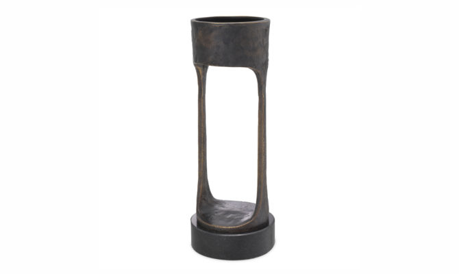 CANDLE HOLDER BOLOGNA – Bronze  / LARGE Product Image