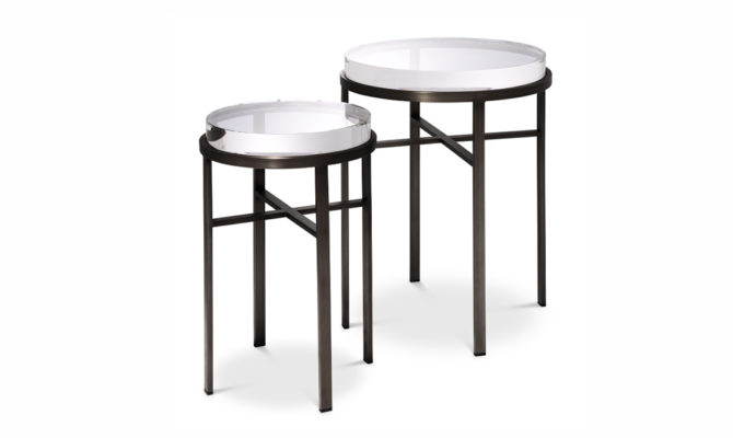 Hoxton Side Table – Bronze Product Image