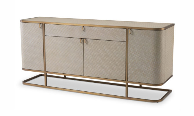 Napa Valley Dresser  – Brass Product Image