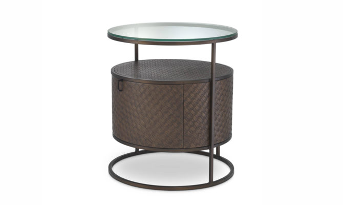 Napa Valley BEDSIDE TABLE – Bronze Product Image