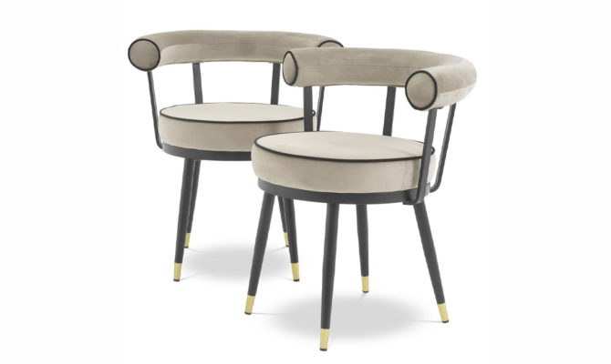 VICO DINING CHAIR – grey Product Image
